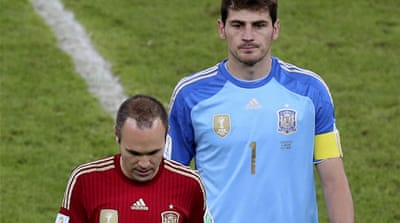 Bright future for Spain despite Brazil exit