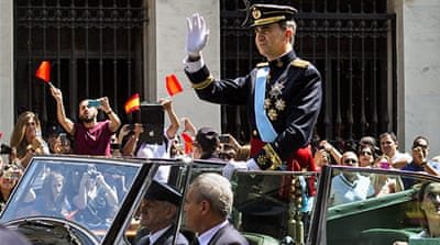 In Pictures: Spain coronates new King