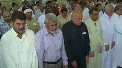 Iraq's Sunni and Shia gather for worship