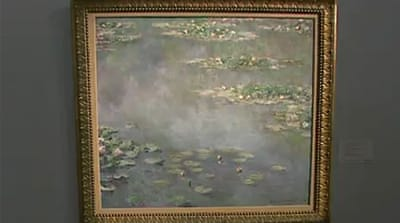 Monet painting fetches $54m in London sale
