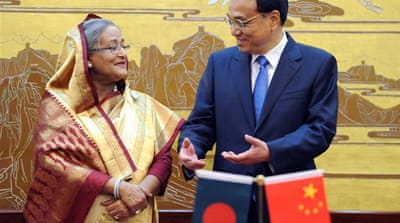 Prime Minister Sheikh Hasina won parliamentary elections in January amid opposition boycott [EPA]