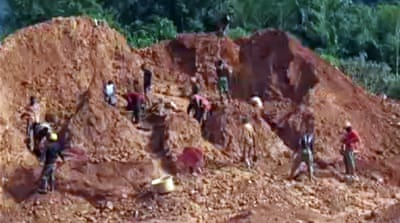 Ghana environment pays cost of illegal mining