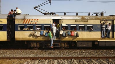 India struggles with rail-fare increases