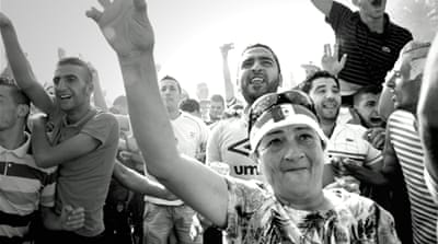 In Pictures: Algiers World Cup fever