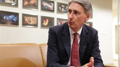 Newly appointed British Foreign Minister Philip Hammond  [Al Jazeera]