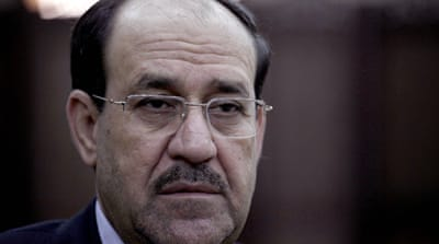 Maliki is under pressure from world leaders to reach out to his critics across Iraq's sectarian divide [AP]