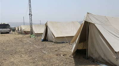 Pakistan camp lies empty despite IDP exodus
