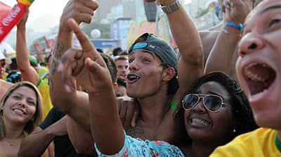 In Pictures: Copacabana in ecstasy