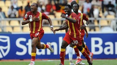 Asmaoah's Ghana have a tough World Cup group including USA, Germany and Portugal [Getty Images]
