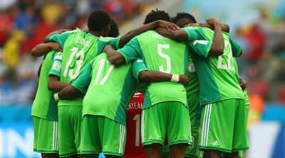 Nigeria crashed out of the World Cup in the last-16 [GALLO/GETTY]