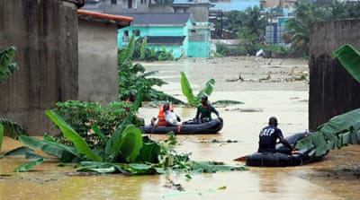 In Pictures: Ivory Coast flooding