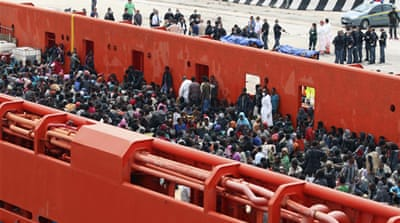 More than 62,0000 migrants have arrived in Italy so far in 2014 [Reuters]
