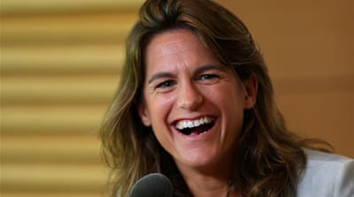 Mauresmo coached Marion Bartoli to her unexpected Wimbledon victory last summer [AFP]