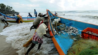 Attempts by fishing communities in India and Sri Lanka to resolve the problem have ended in failure [File - EPA]
