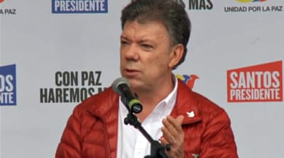 Colombia presidential poll campaign ends