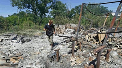 Ukraine attacks separatists after truce fails