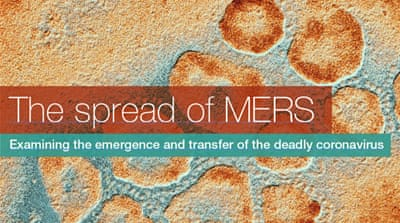 Infographic: The spread of MERS