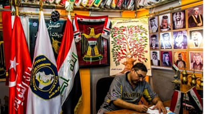 Iraq's tailors profit as conflict deepens