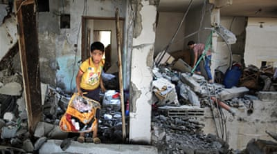 In Pictures: Assault on Gaza continues