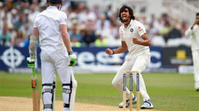 Ishant Sharma struck three times to bring about England's dramatic slump [GALLO/GETTY]