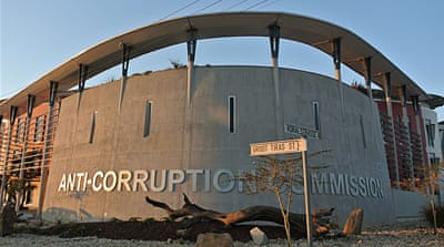 Namibia slipping into endemic corruption