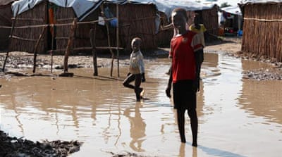 Rainy season worsens South Sudan crisis