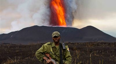 In Pictures: Congo's park rangers under fire