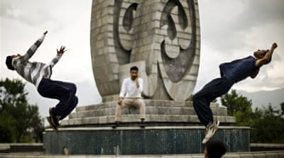 In Pictures: Kashmir's parkour generation