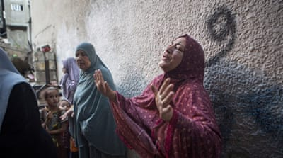 In Pictures: Palestinians mourn Gaza children