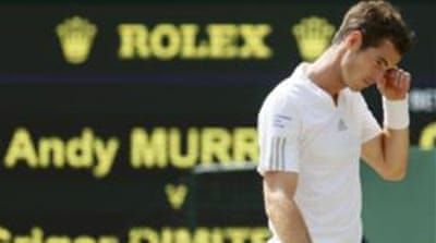 Murray had become the first British male player to win Wimbledon in 77 years [Reuters]