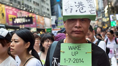 In Pictures: Hong Kong protests