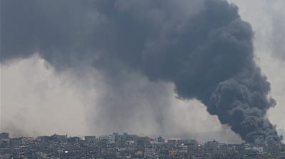 At least 40 people were killed in heavy shelling on Gaza's Shujayea neighbourhood overnight [Reuters]