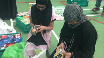 UK Muslim charities shift focus to local aid