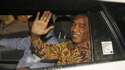 Indonesia's new president vs spurned elites