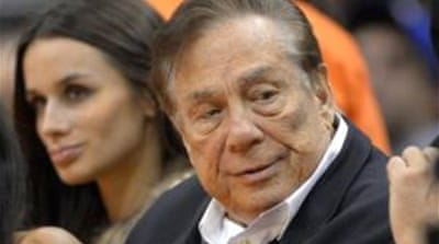 The saga began when owner Donald Sterling was heard making racist remarks [AP]