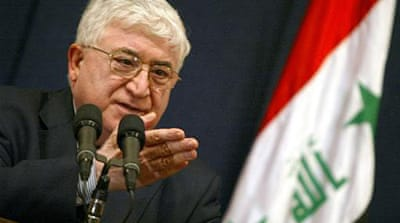 Iraq gets new president as violence rages