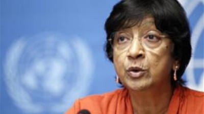 Pillay suggested a number of measures to make UN Security Council more effective [Reuters]