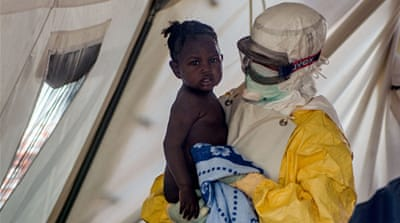 In Pictures: Sierra Leone's war against Ebola