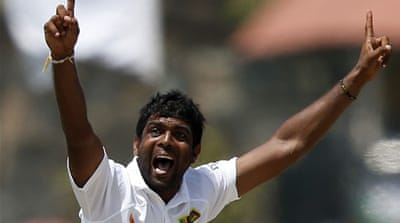 Perera picked up his second five-wicket haul when he had Mornie Morkel out for a duck [GALLO/GETTY]