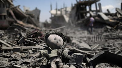 Gazans survey devastation as truce broken
