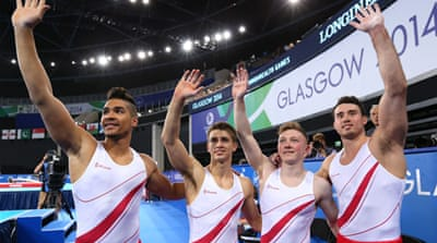 Louis Smith, Sam Oldham, Kristian Thomas, Max Whitlock and Nile Wilson scored 266.804 [GALLO/GETTY]