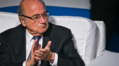 Blatter: Where are Brazil's protesters?