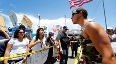 US immigration protest movement gaining momentum