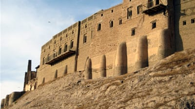 Officials in Erbil are also seeking to build new homes and businesses at the foot of the citadel [AP]