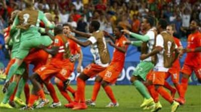 Krul became an instant hero for the Dutch after coming on just for the penalty kicks  [Reuters]