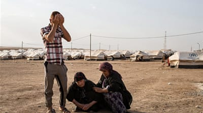 In Pictures: Iraq's displaced seek safe haven