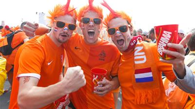 Dutch fans rely on Brazilian backup for semis