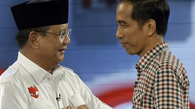 Voters face stark choice in Indonesia polls