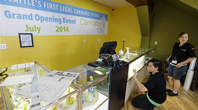 Second US state set to legally sell marijuana