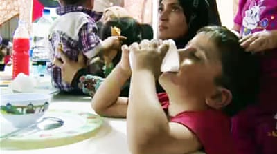 Syrian refugees stay hungry in Ramadan